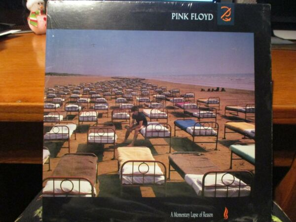 SEALED PINK FLOYD MOMENTARY LAPSE OF REASON VINYL RECORD 1987 NEW