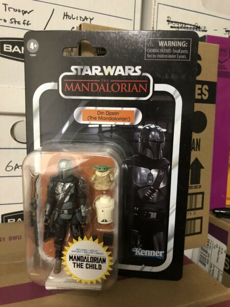 Star Wars Vintage Collection VC177 Din Djarin The Mandalorian w The Child