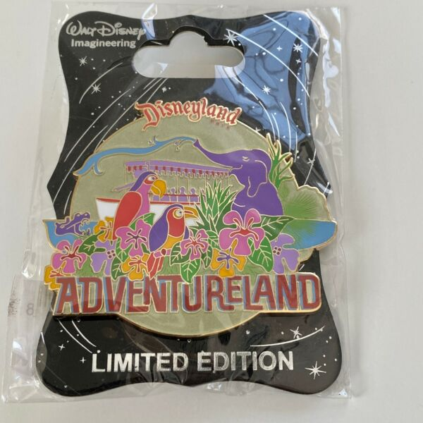 Disney WDI Retro Disneyland Attraction Adventureland Pin LE 300 MOG NEW Tiki $99.95