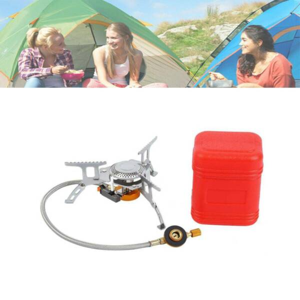 3500W Backpacking Camping Hiking Mini Stove Outdoor Portable Picnic Gas Burner