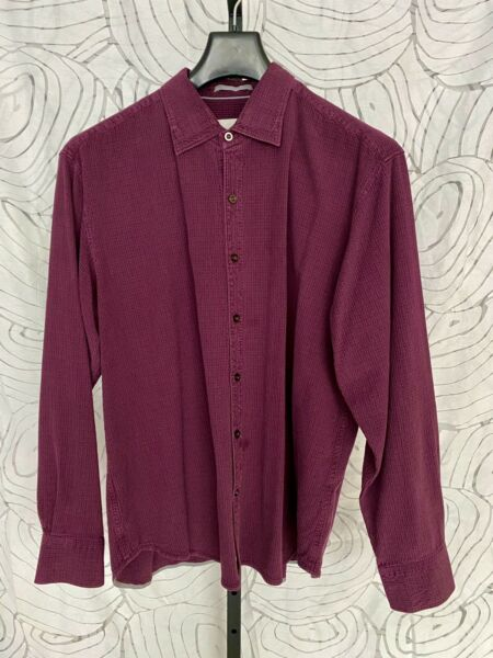 Tommy Bahama Long Sleeve Silk Mens Shirt Size XL $29.99