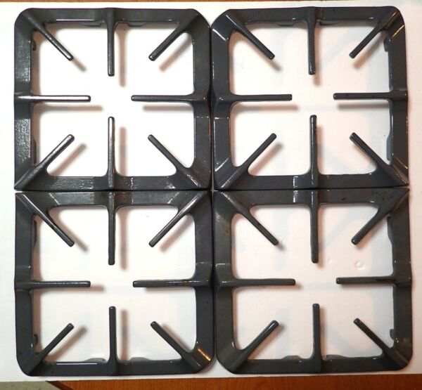 Maytag Whirlpool Amana amp; More Gray Gas Stove Grates # 74003766 4 Total Used