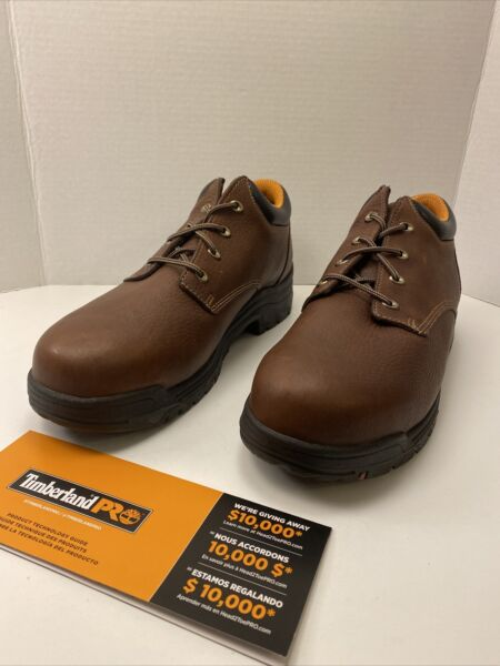Timberland Pro Titan Oxford Alloy Safety Toe Shoe Size 14 W New $69.99