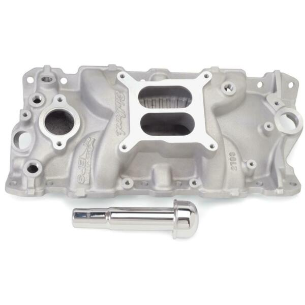 Edelbrock 2703 Performer EPS Chevy Intake Manifold with Oil Fill $265.95