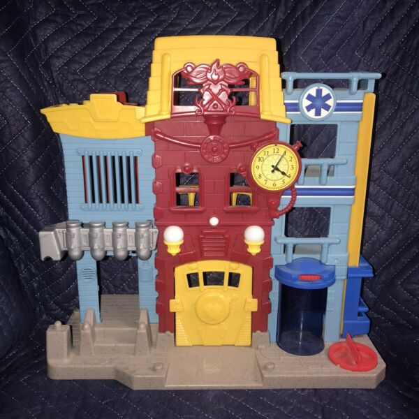 Imaginext Rescue City Center Bank EMT Station Fire House Fisher House Playset $30.00