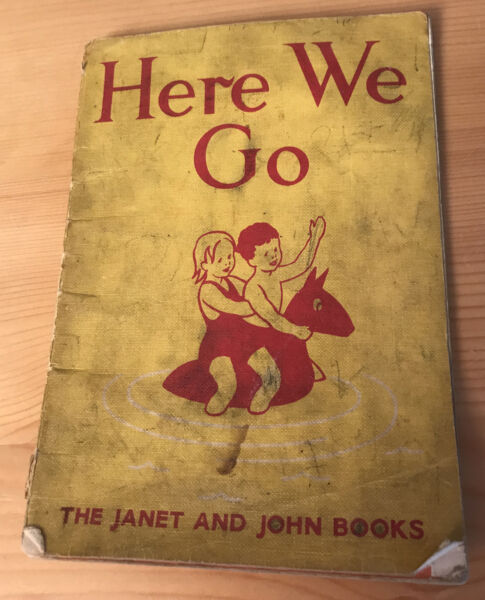 Janet John Series #x27;Here We Go#x27; cult children#x27;s books by Rona Munro collectable