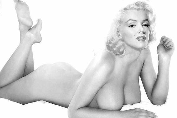 MARILYN MONROE AKA NORMA JEAN BAKER SEXY PLAYBOY GIRL 8X10 PHOTO POSTER PICTURE