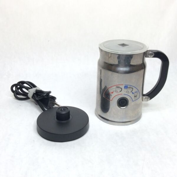 Nespresso Aeroccino 3192 Automatic Electric Milk Frother Hot Cold*Missing Whisk*