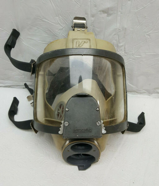INTERSPIRO SPIROMATIC Full Face Mask FIRE GAS SCBA RESCUE