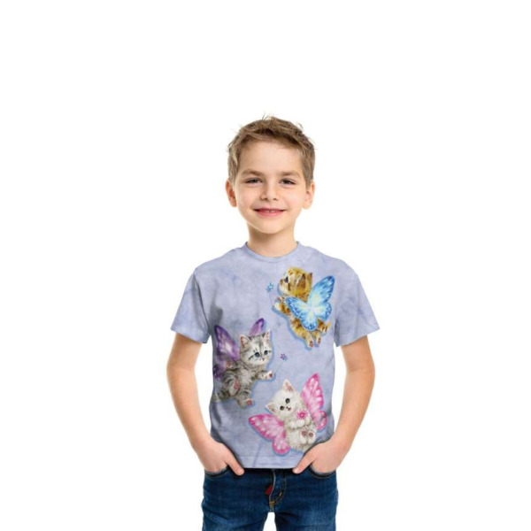 The Mountain Kids Short Sleeves Graphic T Shirt Butterfly Fairies $12.90