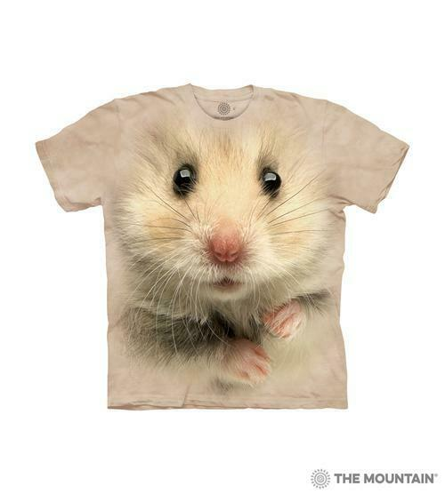 The Mountain Kids Short Sleeves Graphic T Shirt Hamster Face $12.90