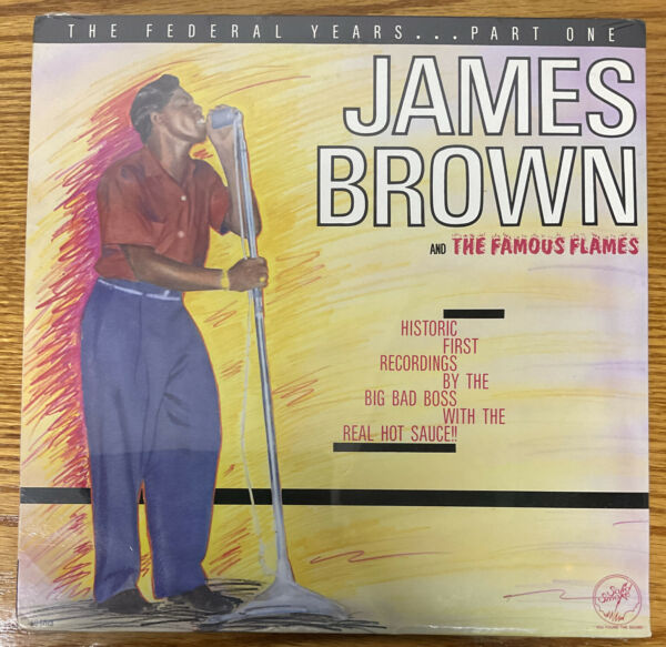 James Brown SEALED LP The Federal Years Part One SOLID SMOKE soul FUNK 146