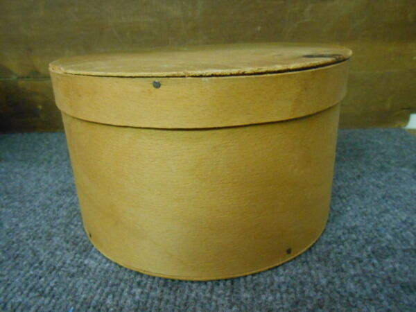 ANTIQUE PRIMITIVE WOOD PANTRY BOX 7.5quot;