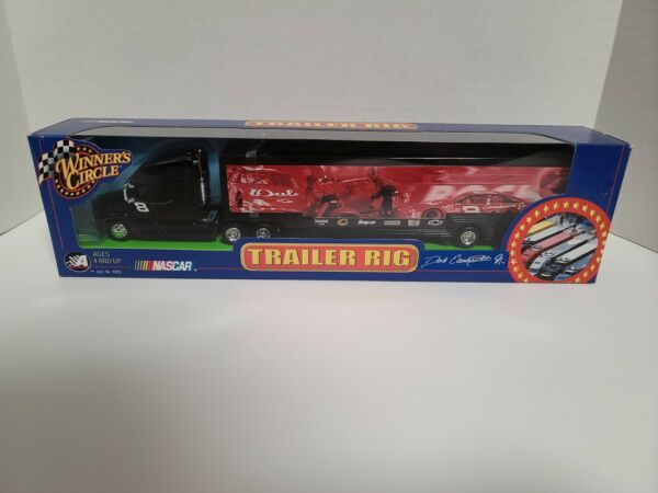 Nascar Dale Earnhardt Jr Trailer Rig Winner#x27;s Circle Die Cast Pit Crew 1: 64