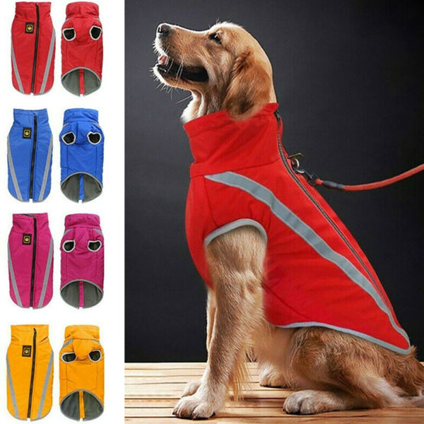 USA Pet Fleece Harness Vest Jacket Sweater Coat Small Medium Dog Large Clothes $13.39