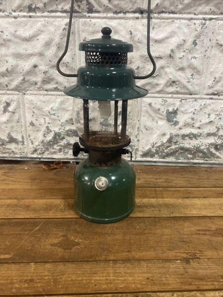 Coleman Single Mantle Gas Lantern Model 242C Dated 6 61 Sunshine of the Night