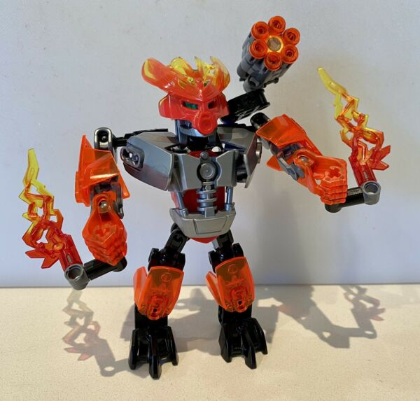 LEGO Bionicle: Protector of Fire Set # 70783 100% Original Pre Loved