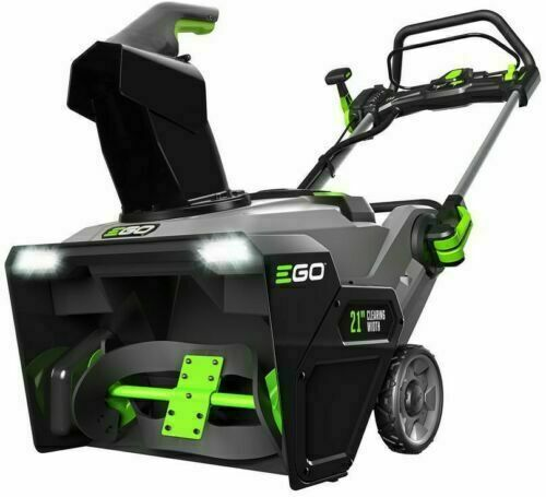 Ego SNT2100 21quot; Cordless 56 Volt Lithium Ion Single Stage Electric Snow Blower