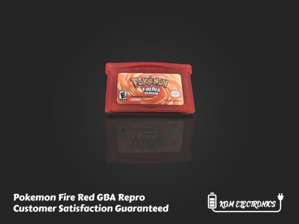 Pokemon Fire Red Version GBA Gameboy Advance USA