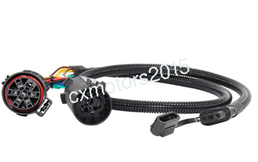 USCAR T Connector Towing Harness Trailer 4 Way Flat with USCAR 7 Way Connector $26.99
