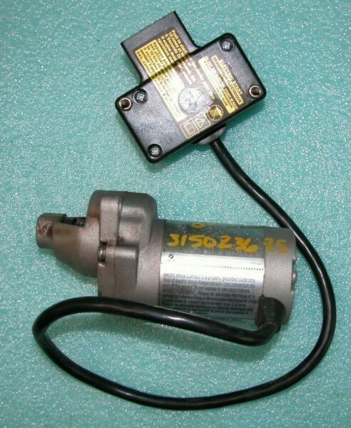 TORO SINGLE STAGE SNOW ENGINE 120 VOLT ELECTRIC STARTER PART # 119 1983 USED