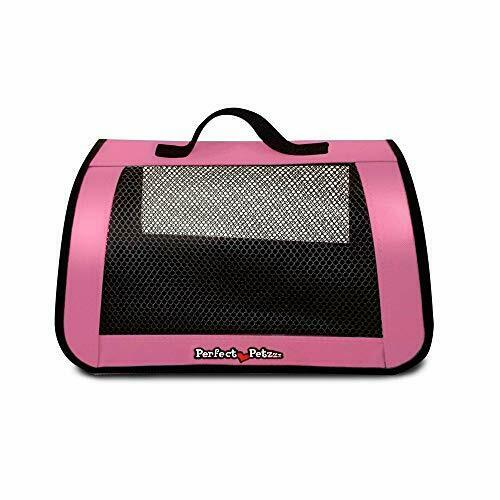 Mesh Toy Carrier For Pet Dogs And Cat Animals Zippered Carrying Case Interactive $21.85