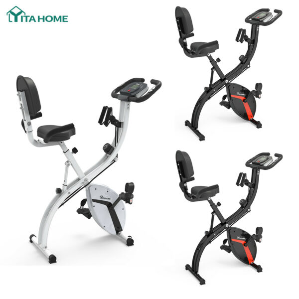 YITAHOME Indoor Cycle Bike Exercise Bike Stationary Bicycle Cardio Trainer Home $159.65