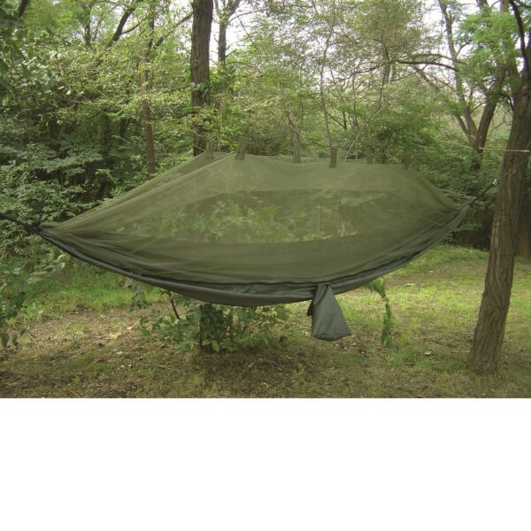 Snugpak Jungle Hammock with Mosquito Net Lightweight Parachute Nylon $74.95