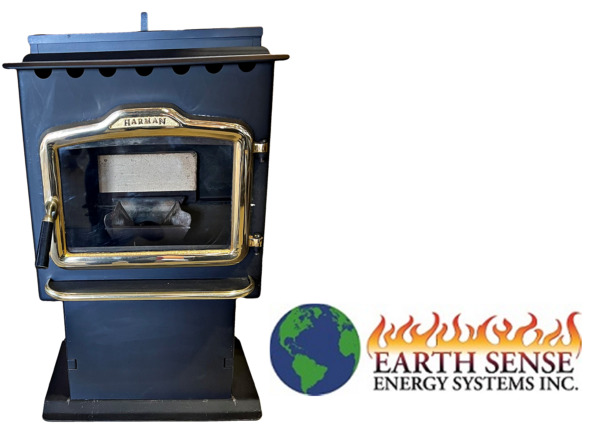 Harman P38 Pellet Stove Refurbished by Pros 45 Day Warranty $1499.00