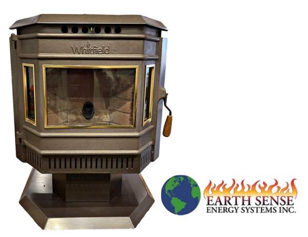 Whitfield Advantage Pellet Stove 1994 Used Refurbished FREE SHIPPING $1600.00