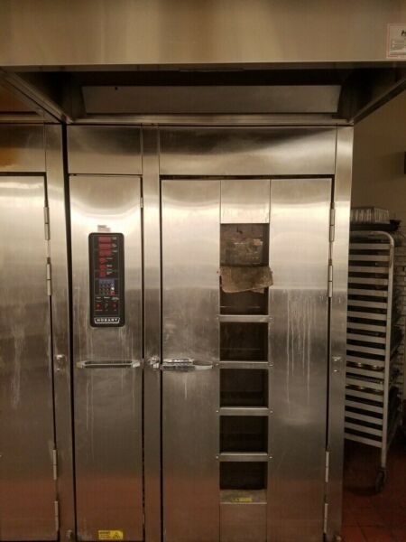 Hobart Natural Gas HO210G1 Single Rack Grocery Bakery Roll In Convection Oven $3500.00