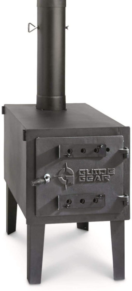 Camping Equipment Cast Iron Large Outdoor Wood Stove Portable Adjustable New $217.44