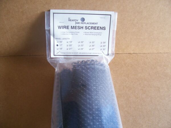 MAJESTIC FIREPLACE 24quot; W X 17quot; L REPLACEMENT SCREENS 2417SM NEW