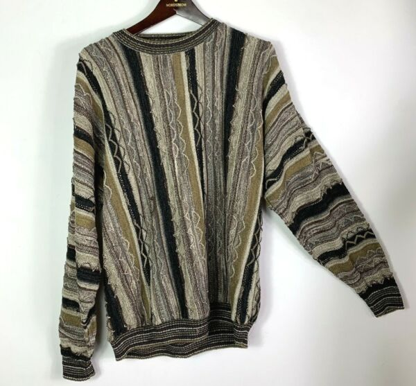 Vtg 90's Protege Collection Sweater Mens Large Coogi Style Sweater Cosby $19.99