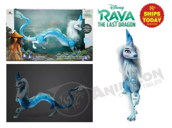 Disney Store RAYA AND THE LAST DRAGON SISU DRAGON LIGHTS amp; SOUNDS TOY NEW 2021