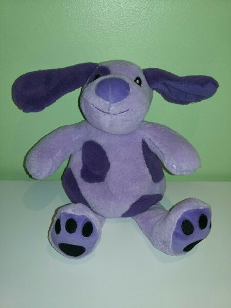 Purple Dog Spotted Soft Toy Approx 12quot; GBP 7.99