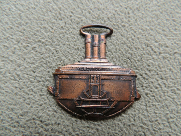 Vintage Pittsburg Electric Furnace Corp Watch Fob quot;Lectromeltquot; $25.00