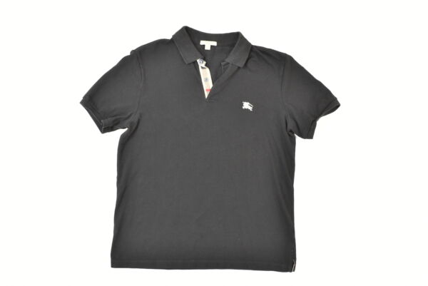 Burberry Men#x27;s Size XL Polo Brit Black $26.00