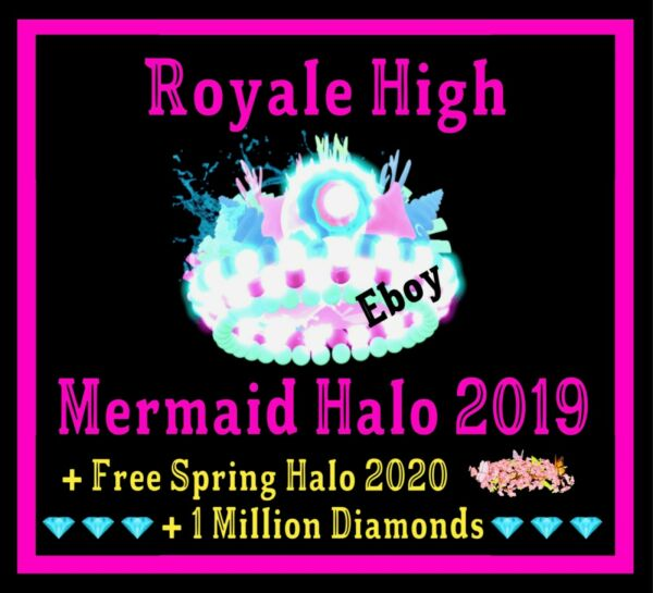 ROBLOX ROYALE HIGH MERMAID HALO 2019 RH DIAMONDS **READ DESCRIPTION**