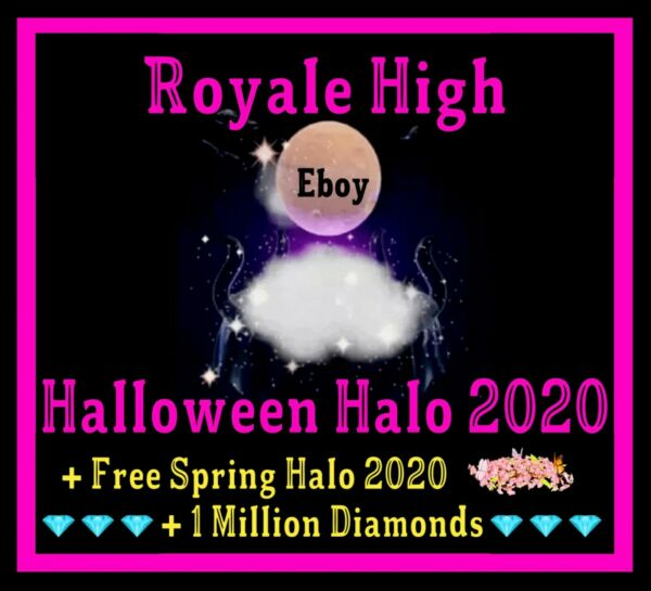ROBLOX ROYALE HIGH HALLOWEEN HALO 2020 RH DIAMONDS **READ DESCRIPTION**