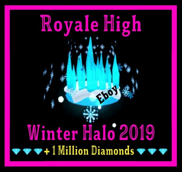 ROBLOX ROYALE HIGH WINTER HALO 2019 RH DIAMONDS **READ DESCRIPTION**