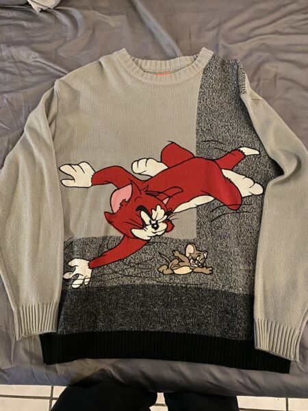 iceberg history Rare sweater Tom And Jerry Size XXL $275.00
