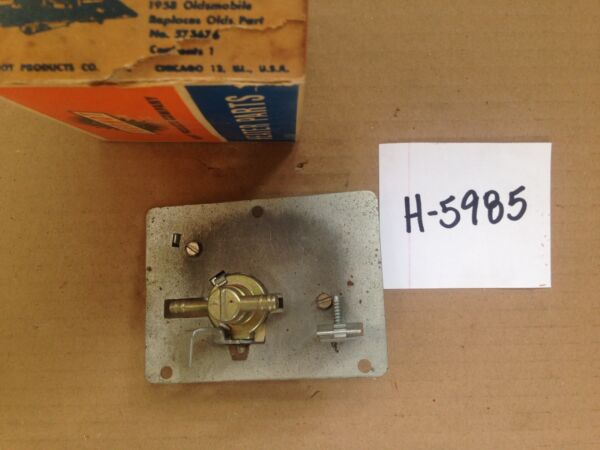 1958 59 60 61 62 63 64 Oldsmobile in heater base all Heater Control Valve H5985 $99.99
