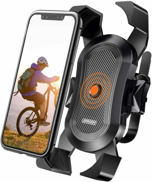 Universal Bike Phone Mount Secure Lock amp; Bicycle Cell Phone Holder for Handlebar $11.00