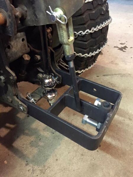 Allis Simplicity Brinly Sleeve Hitch