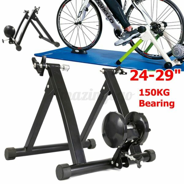 Indoor Trainer 24 29#x27;#x27; Exercise Fitness Stand Cycling ! $268.66