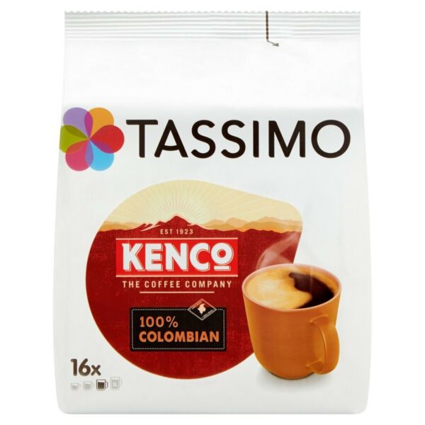 TASSIMO Kenco Colombian 16 T DISCs Pack of 5 Total 80 T DISCs