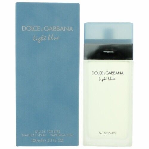 Dolceamp;Gabbana Light Blue 3.3 oz 100mL EDT for Women Brand New and Sealed