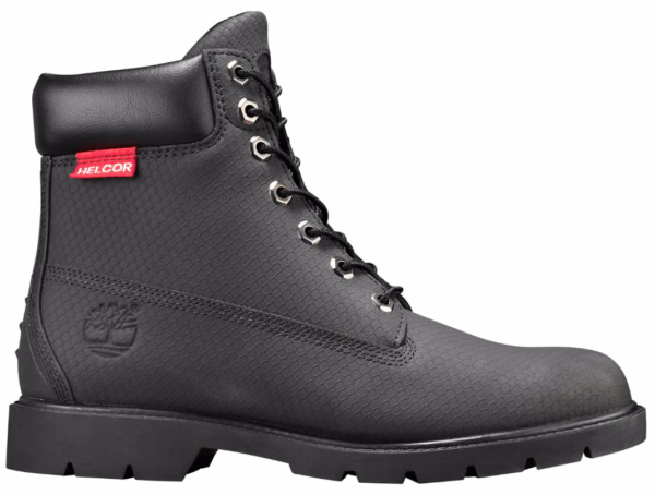 Timberland Men#x27;s 6 Inch Black Helcor Scratch resistant Work Boots Style 6335A $149.95