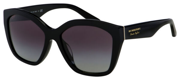Burberry Sunglasses BE 4261F 30018G 57 Black Grey Gradient Lens $109.99